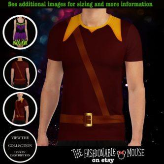 Gaston Costume Shirt