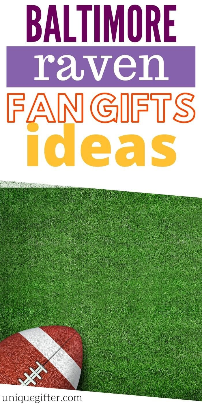 Best Gift Ideas for Baltimore Ravens Fan | Football Gifts For Fans Of The Baltimore Ravens | Ravens Gift Ideas | Creative Gifts For Ravens Fans | #gifts #giftguide #presents #football #ravens #uniquegifter