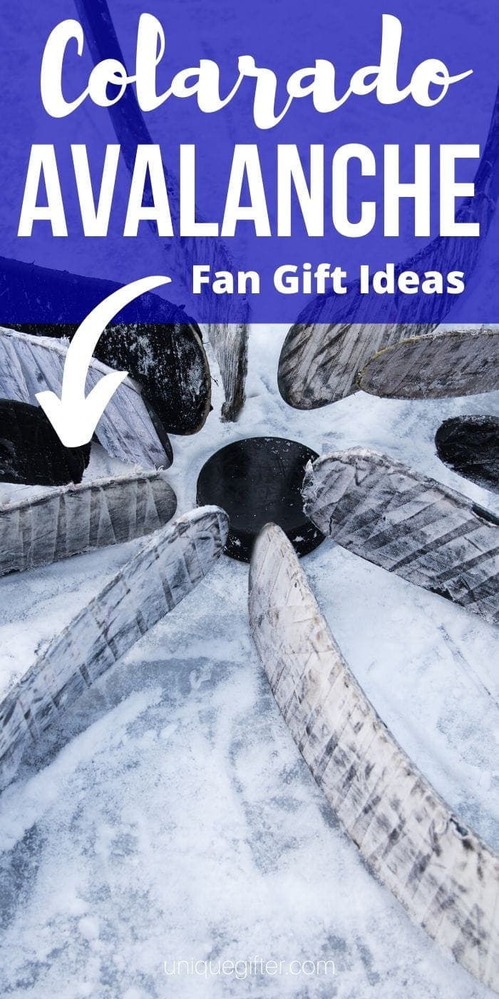 Best Gift Ideas for Colorado Avalanche Fan | Avalanche Fans | Gifts For People Who Love The Colorado Avalanche Team | #gifts #giftguide #presents #colorado #avalanche #hockey #uniquegifter
