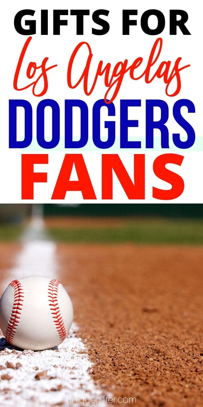 Best Gift Ideas for Los Angeles Dodgers Fan | Dodger Fan Gifts | Baseball Lovers Gifts | Creative Gifts For People Who Love Baseball | #gifts #giftguide #presents #baseball #dodgers #losangeles #uniquegifter