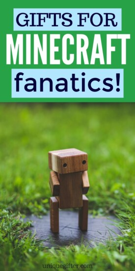 Best Gift Ideas for Minecraft Fans | Minecraft Presents | Gifts For People Who Love Minecraft | Creative Minecraft Gifts | #gifts #giftguide #presents #minecraft #uniquegifter