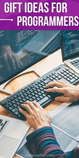 Best Gift Ideas for Programmers | Creative Gifts For Programmers | Awesome Gifts For People Who Are Programmers | #gifts #giftguide #presents #programmer #uniquegifter