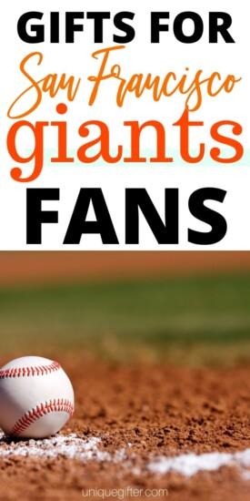 Best Gift Ideas for San Francisco Giants Fan   Giants Gift Ideas   Presents For Giants Fans   Creative Gifts For Giants Fanatics   #gifts #giftboard #presents #giants #sanfransisco #creative #uniquegifter