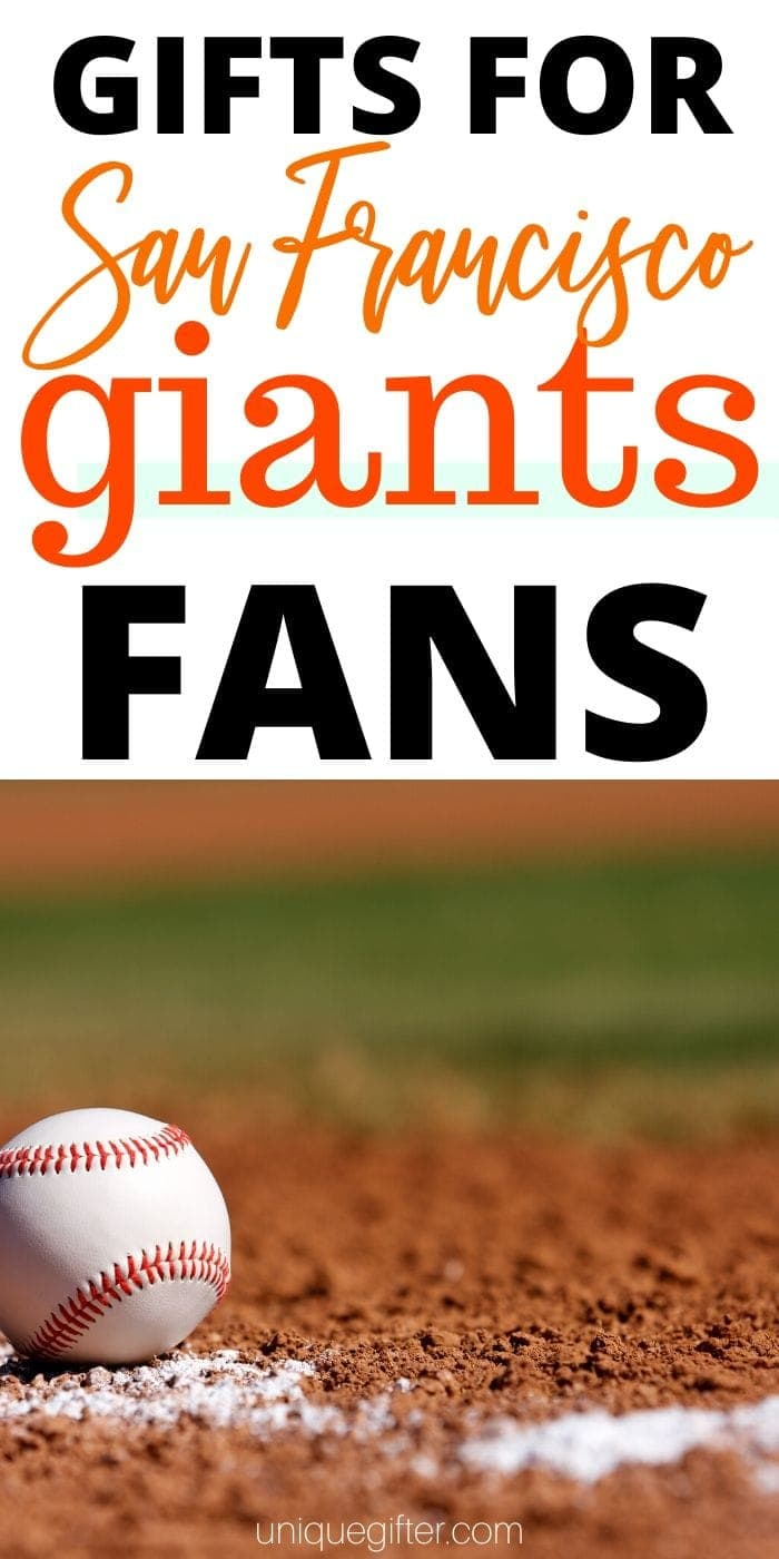 Best Gift Ideas for San Francisco Giants Fan | Giants Gift Ideas | Presents For Giants Fans | Creative Gifts For Giants Fanatics | #gifts #giftboard #presents #giants #sanfransisco #creative #uniquegifter