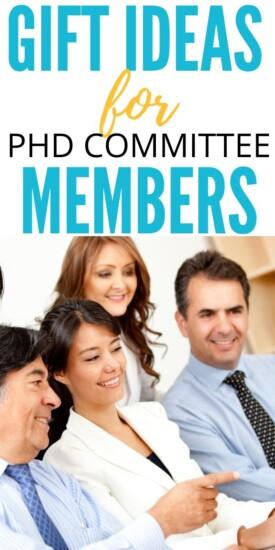Best Gift ideas for PhD Committee Members | PhD Committee Member Gifts | Presents For PhD Committee Members | #gifts #giftguide #presents #phd #committee #uniquegifter