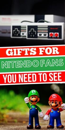 Pokemon Gift Ideas   Mario Gifts   Mario Brother Gifts   Gamer Gift Ideas   Nintendo Party   Mario Party Ideas   Nintendo Fan Gifts   #pokemon #nintendo #zelda #gifts #gaming