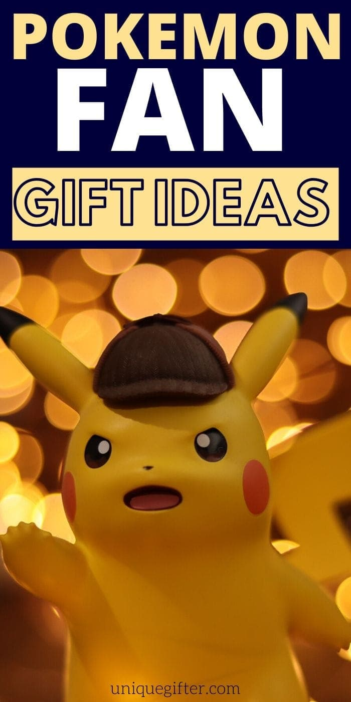 Best Gifts For the Pokemon Fan | Pokemon Gifts | Pokemon Gift Ideas | Best Gifts For Anyone Who Loves Pokemon | #gift #giftguide #presents #pokemon #best #uniquegifter