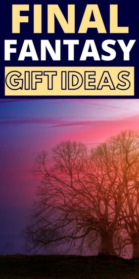 Best Gifts for the Final Fantasy Lover in Your Life | Final Fantasy Gift Ideas | Creative Gifts For Final Fantasy Fans | Presents For Anyone Who Loves Final Fantasy | #gifts #giftguide #finalfantasy #games #uniquegifter