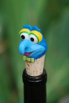 Gonzo Wine Bottle Stopper