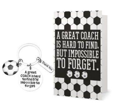 Greatest Coach Keychain