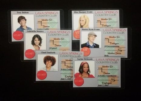 HSM 2 Lava Springs ID Cards