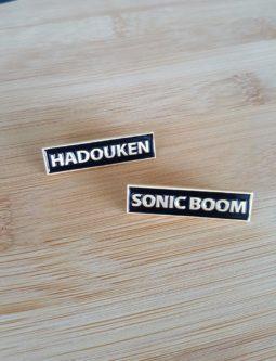 Hadouken Sonic Boom pins