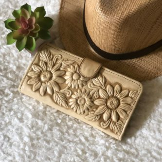 Handcrafted Leather Wallet for Women