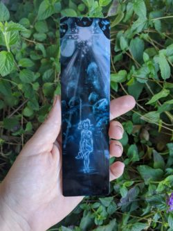 Heart of Atlantis Aluminum Bookmark