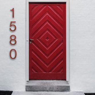 Helvetica House Numbers