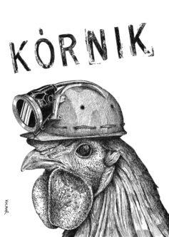 Hen Miner Poster