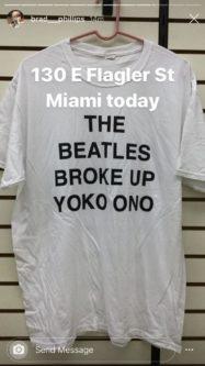 Hilarious Original Beatles T-Shirt