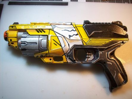 Hyperion blaster from borderlands game series custom made cosplay gift