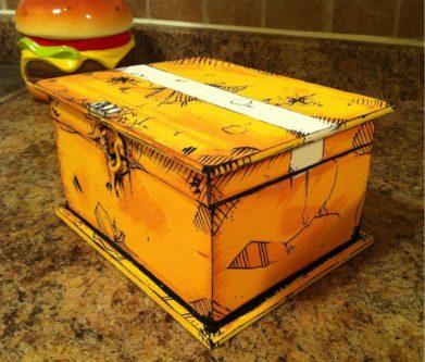 Hyperion loot chest handmade Borderlands prop