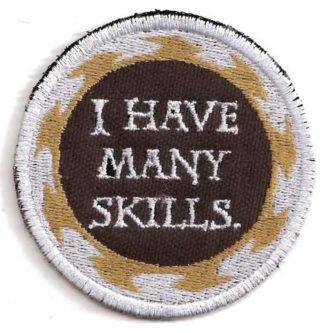 I have many skills badge