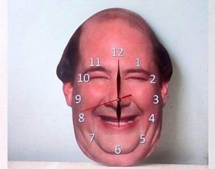 Kevin Malone Wall Clock