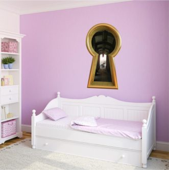 Keyhole Wall Decal