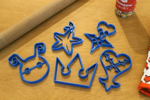kingdom hearts cookie cutters