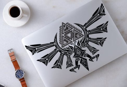 Legend of Zelda Laptop Decal