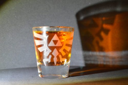 Legend of Zelda Shot Glass