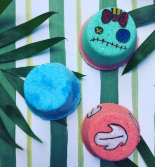 Lilo and Stitch Mini Bath Bomb Set