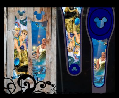 Magic Band Wrap Decal