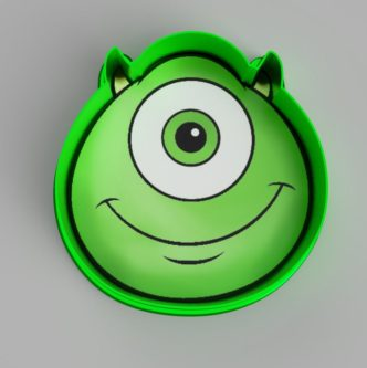 Mike Wazowski Cookie Cutter