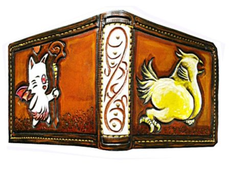 Moogle/Chocobo Leather Bifold Wallet