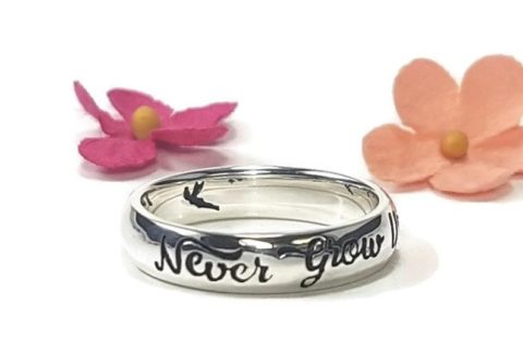 Never Grow Up Ring