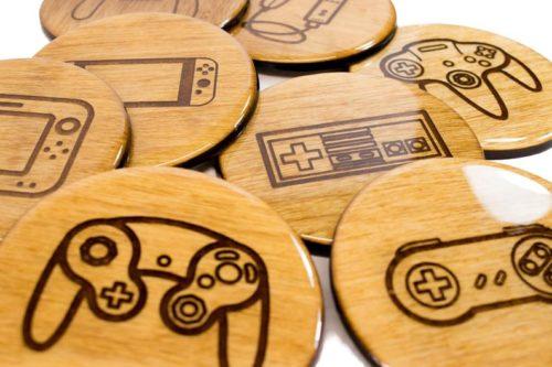 Nintendo Console Coasters