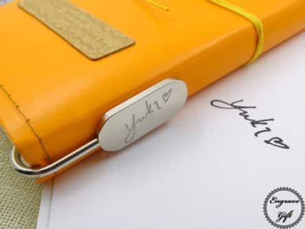 personlized bookmark gift idea