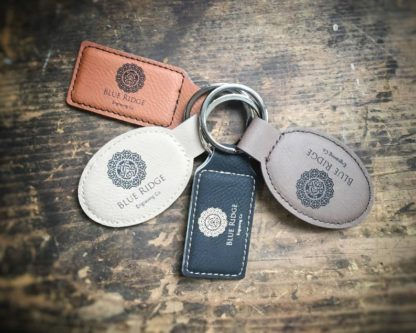 Personalized leatherette Keychain