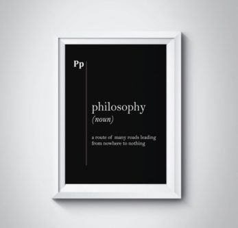 Philosophy Definition Print