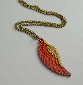 Phoenix Down Pendant Necklace
