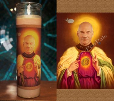 Picard Prayer Candle