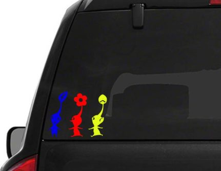 Pikmin Decal