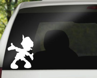 Pinocchio Car Decal