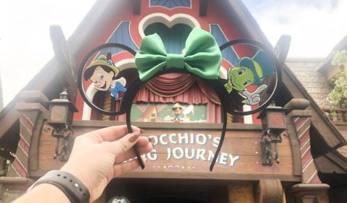 Pinocchio Minnie Ears