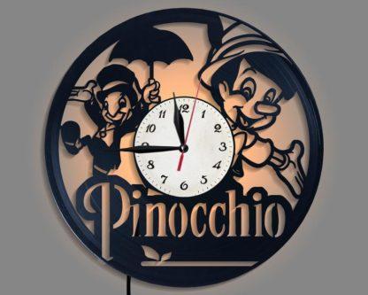 Pinocchio Vinyl Clock