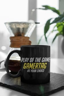 Play of the game coffee mug