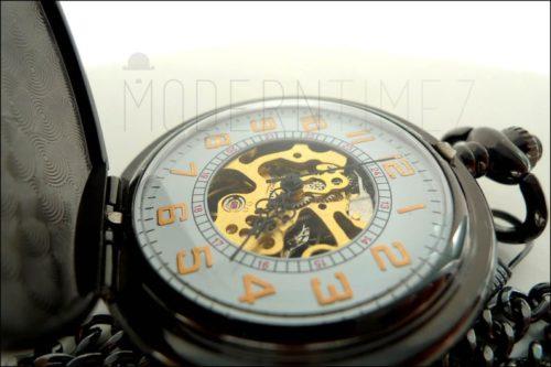steampunk spinning gear watch pocketwatch apparel gift
