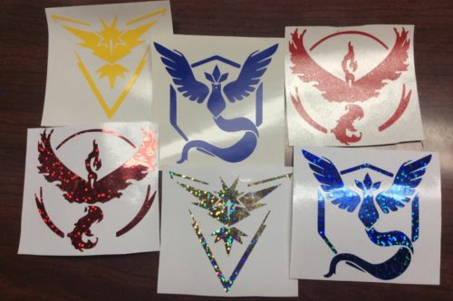 Pokemon Go Decal