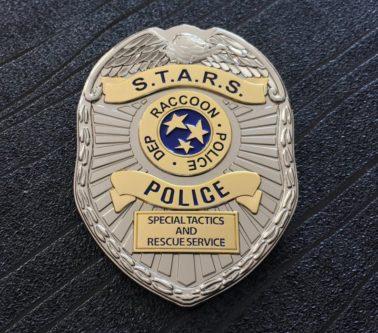 Raccoon City PD police badge
