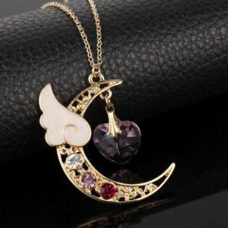 geeky & nerdy stocking stuffer ideas sailor moon necklace
