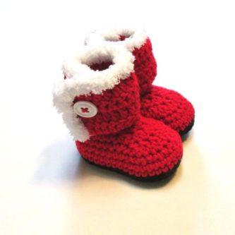 Santa Booties